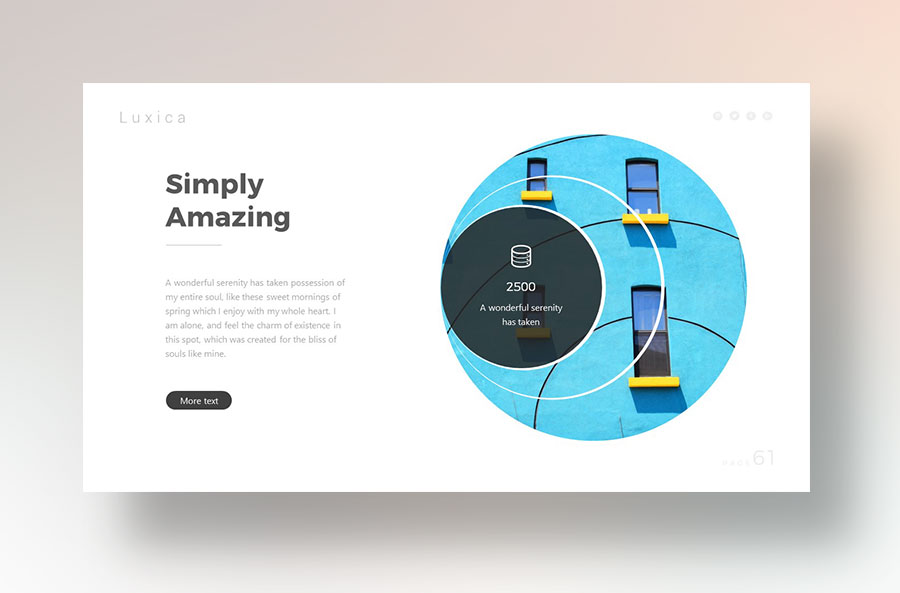 Keep Presentation Simple and to the Point