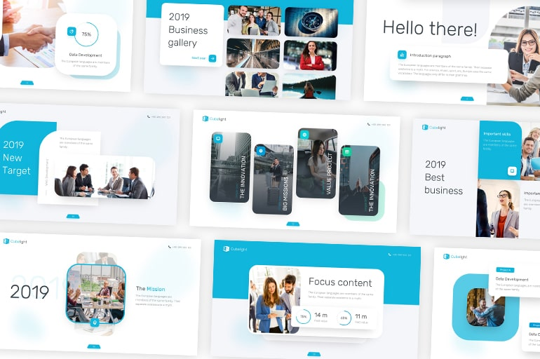 best selling corporate PowerPoint templates
