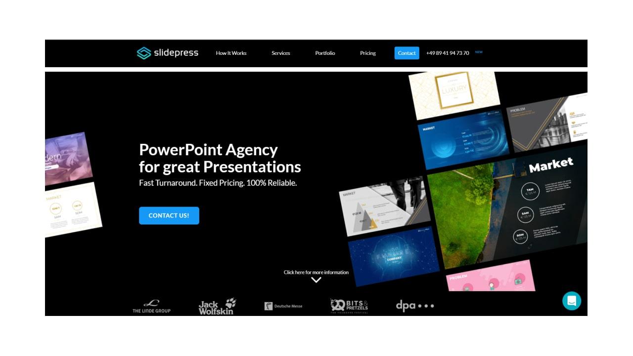 powerpoint design agencies