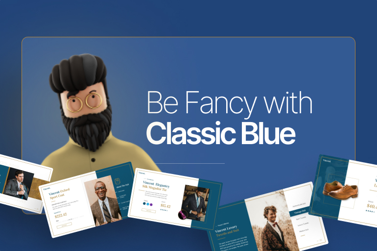 2021 Color Trends: Be Fancy with Classic Blue with 5 Blends