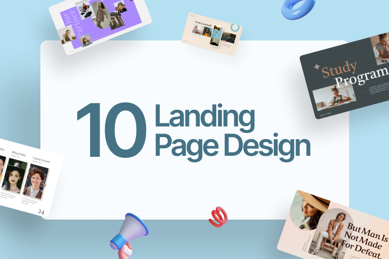 10 Landing Page Design to Boost Your Sales, DIY Tips