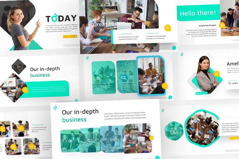Professional Business PowerPoint: Multipurpose Templates to Get You Inspired