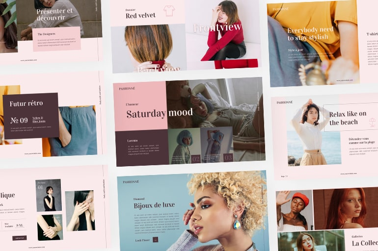 Fashion PowerPoint Templates to Make Clothing Brand Stand Out