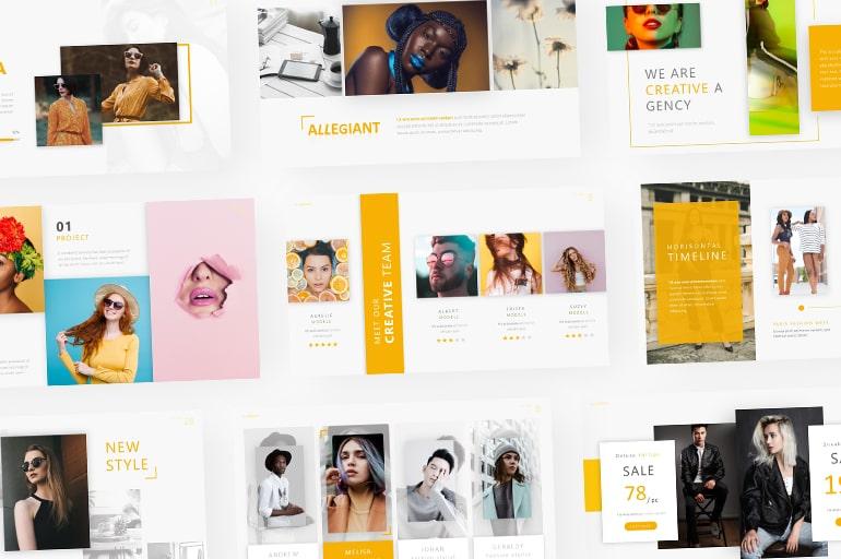 Fashion PowerPoint Templates