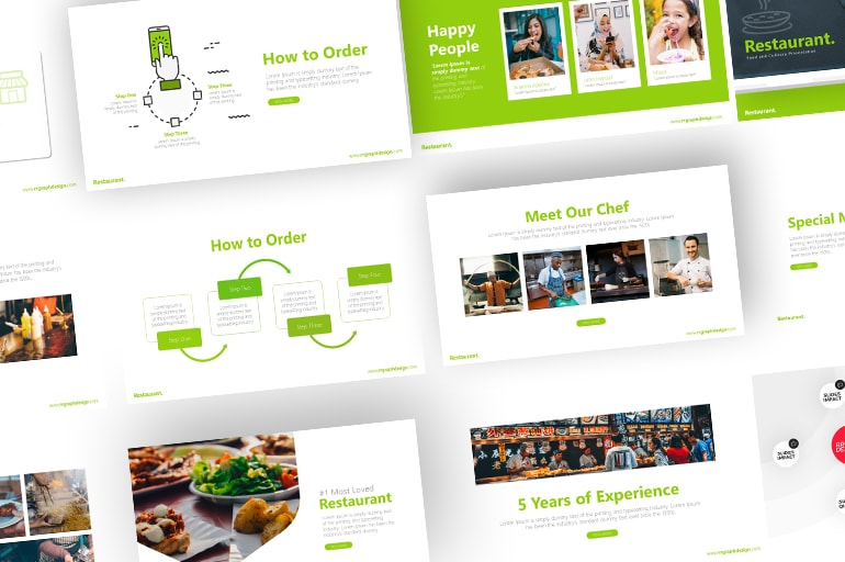 Free Food PowerPoint Templates