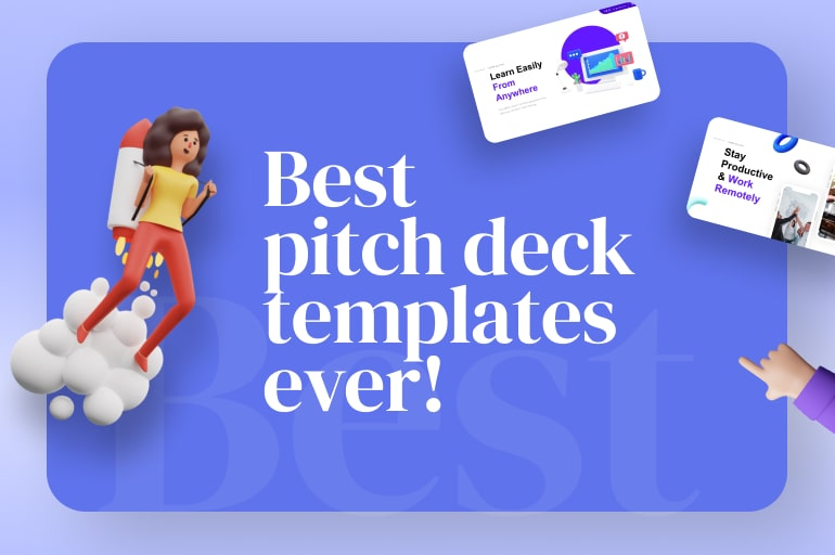 50+ Best Pitch Deck Template by Startups
