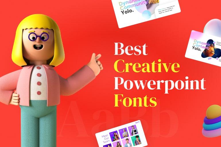 creative custom fonts powerpoint