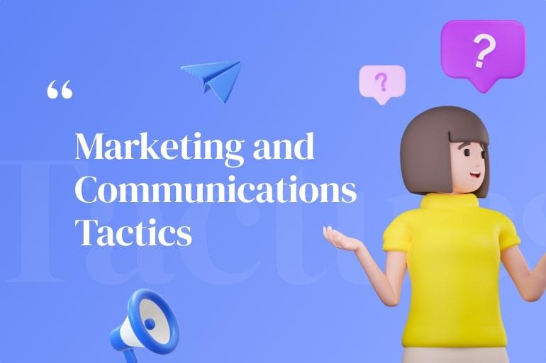 communication tactics for corporate presentation