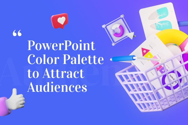 powerpoint color palette to attract audiences