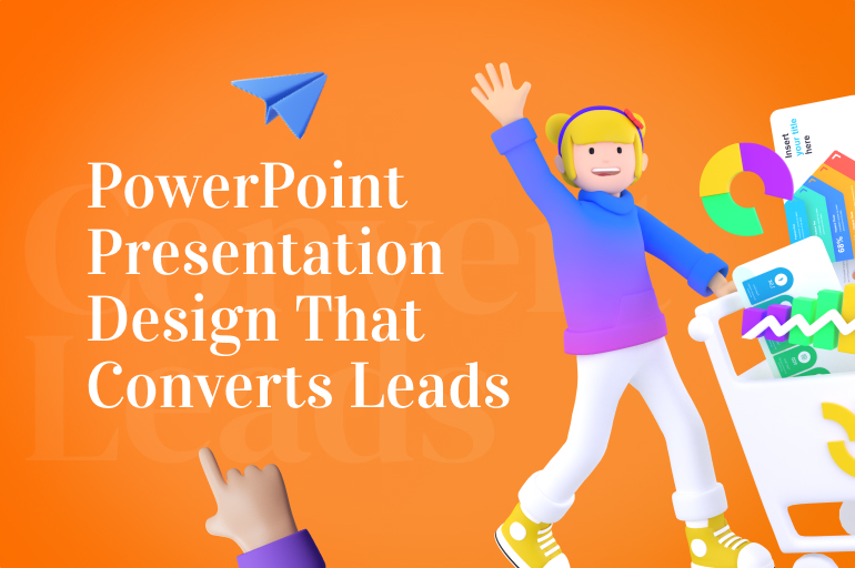 presentation design that converts leads into sales