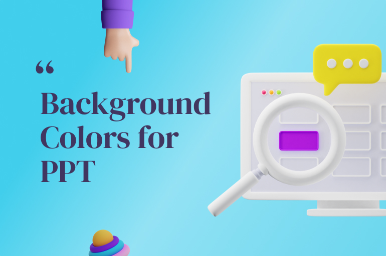 best background colors for presentations